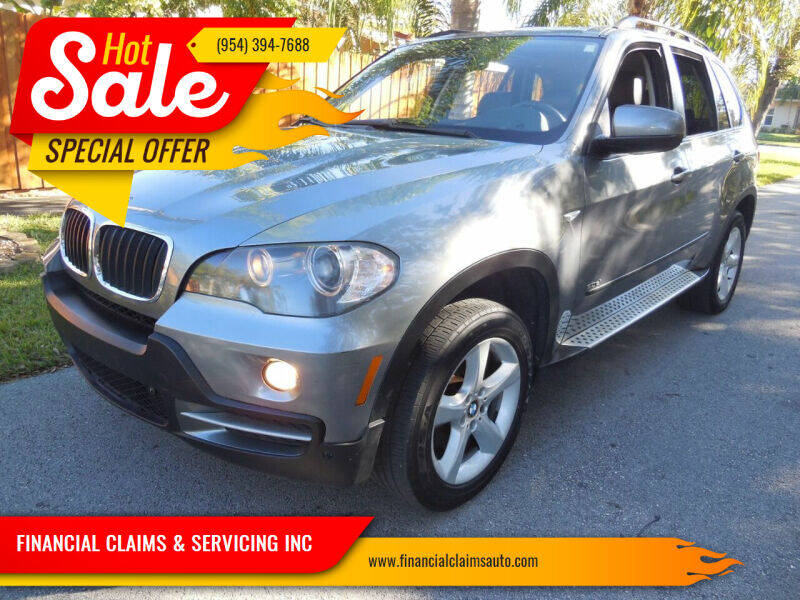 2007 BMW X5 for sale at FINANCIAL CLAIMS & SERVICING INC in Hollywood FL