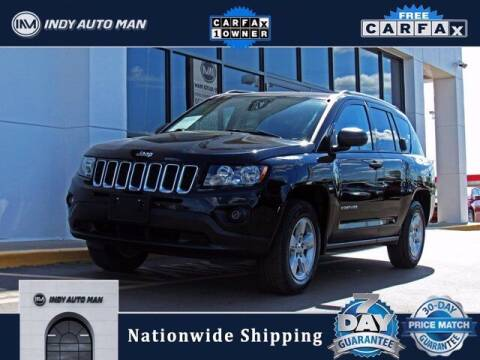 2017 Jeep Compass for sale at INDY AUTO MAN in Indianapolis IN