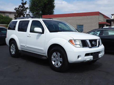 2007 Nissan Pathfinder for sale at Corona Auto Wholesale in Corona CA