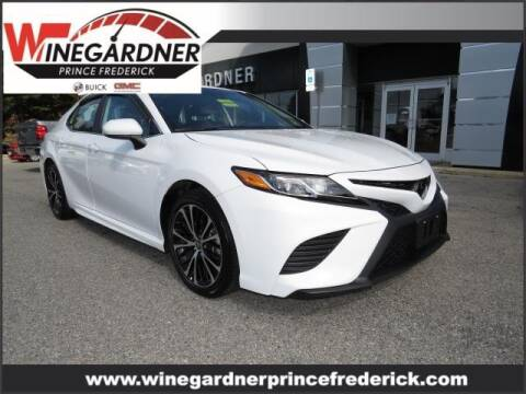 2020 Toyota Camry for sale at Winegardner Auto Sales in Prince Frederick MD