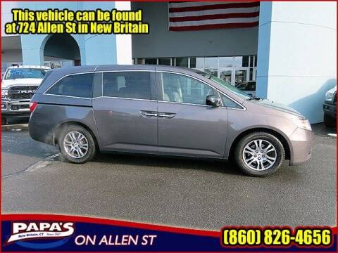 2013 Honda Odyssey for sale at Papas Chrysler Dodge Jeep Ram in New Britain CT