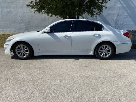 2012 Hyundai Genesis for sale at Car Girl 101 in Oakland Park FL