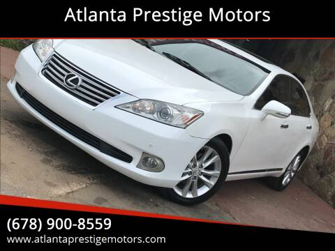 2011 Lexus ES 350 for sale at Atlanta Prestige Motors in Decatur GA