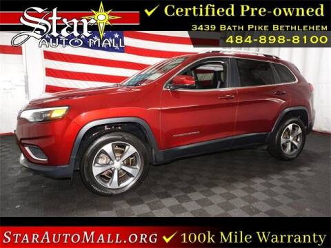 2019 Jeep Cherokee for sale at STAR AUTO MALL 512 in Bethlehem PA