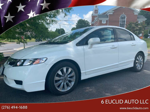 2010 Honda Civic for sale at 6 Euclid Auto LLC in Bristol VA