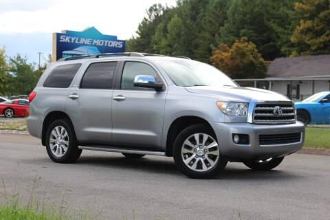 2011 Toyota Sequoia for sale at Skyline Motors in Louisville TN