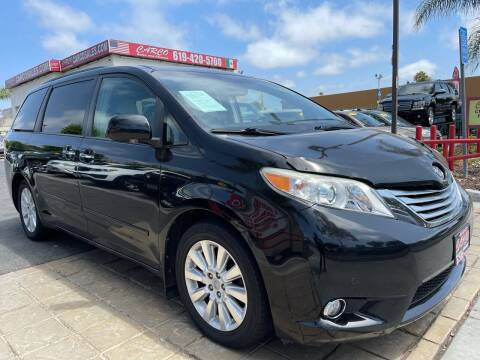 2011 Toyota Sienna for sale at CARCO SALES & FINANCE in Chula Vista CA