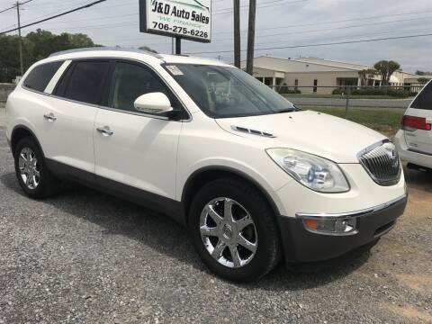 2010 Buick Enclave for sale at J & D Auto Sales in Dalton GA