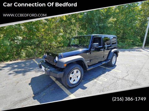 2011 Jeep Wrangler Unlimited for sale at Car Connection of Bedford in Bedford OH