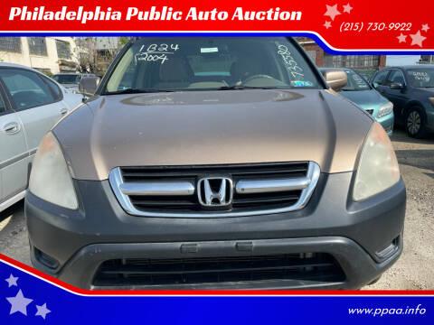 2004 Honda CR-V for sale at Philadelphia Public Auto Auction in Philadelphia PA