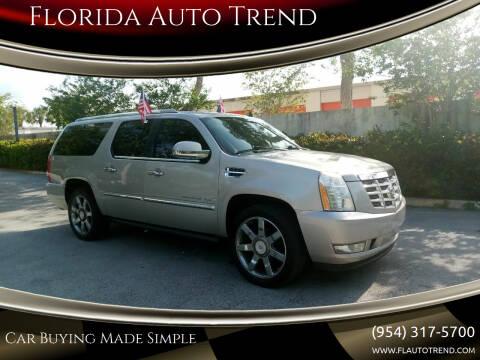 2008 Cadillac Escalade ESV for sale at Florida Auto Trend in Plantation FL