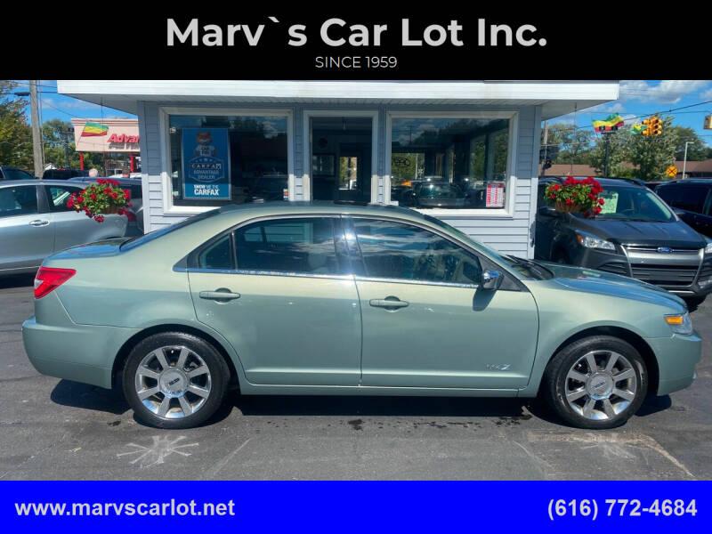 2008 Lincoln MKZ for sale at Marv`s Car Lot Inc. in Zeeland MI