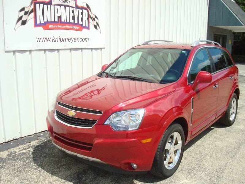 2014 Chevrolet Captiva Sport for sale at Team Knipmeyer in Beardstown IL