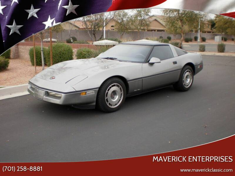 1986 Chevrolet Corvette for sale at Maverick Enterprises in Pollock SD
