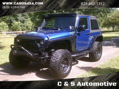 2009 Jeep Wrangler for sale at C & S Automotive in Nebo NC