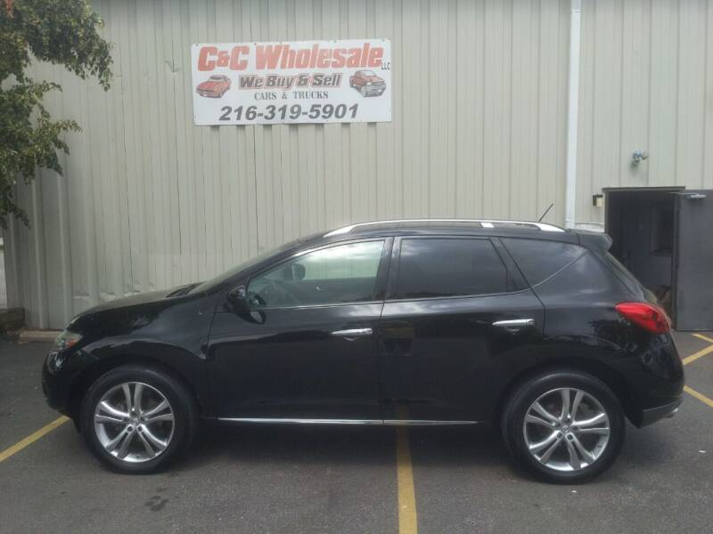2009 Nissan Murano for sale at C & C Wholesale in Cleveland OH