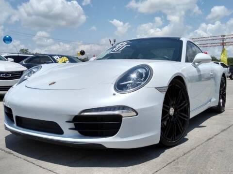 2015 Porsche 911 for sale at A & V MOTORS in Hidalgo TX