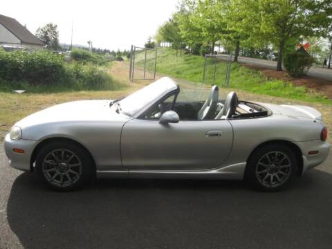 2002 Mazda MX-5 Miata for sale at VIking Auto Sales LLC in Salem OR
