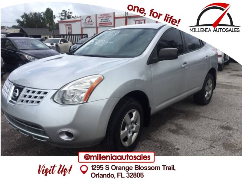 2009 Nissan Rogue for sale at Millenia Auto Sales in Orlando FL