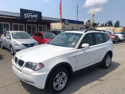 2006 BMW X3 for sale at Tacoma Autos LLC in Tacoma WA