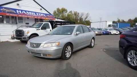 2008 Hyundai Azera for sale at Hamilton Auto Group Inc in Hamilton Township NJ