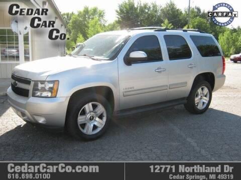 2011 Chevrolet Tahoe for sale at Cedar Car Co in Cedar Springs MI