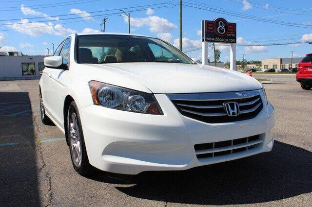 2012 Honda Accord for sale at B & B Car Co Inc. in Clinton Township MI
