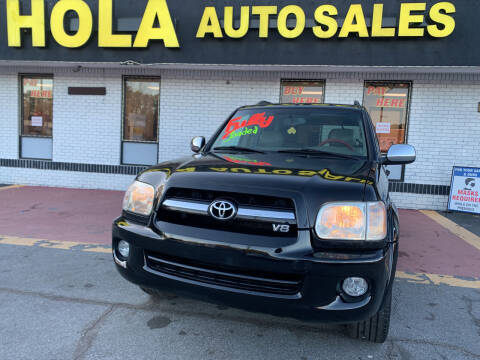 2007 Toyota Sequoia for sale at HOLA AUTO SALES CHAMBLEE- BUY HERE PAY HERE - in Atlanta GA