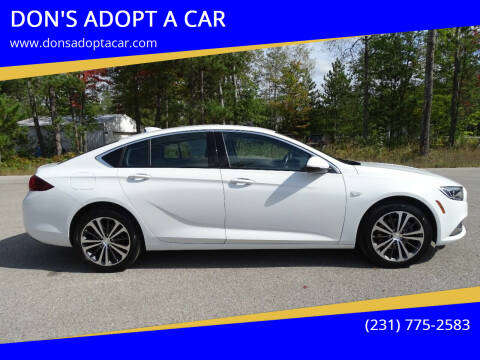 2019 Buick Regal Sportback for sale at DON'S ADOPT A CAR in Cadillac MI