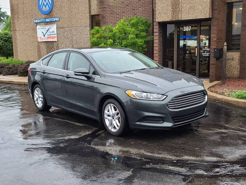 2016 Ford Fusion for sale at Mighty Motors in Adrian MI