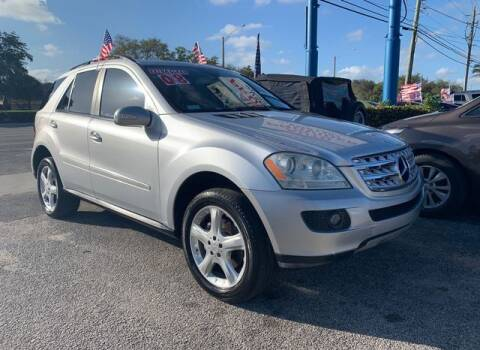 2008 Mercedes-Benz M-Class for sale at AUTO PROVIDER in Fort Lauderdale FL