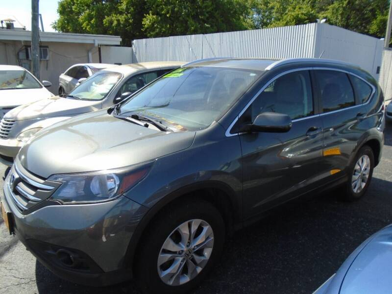 2014 Honda CR-V for sale at River City Auto Sales in Cottage Hills IL
