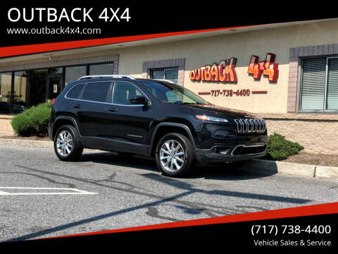2014 Jeep Cherokee for sale at OUTBACK 4X4 in Ephrata PA
