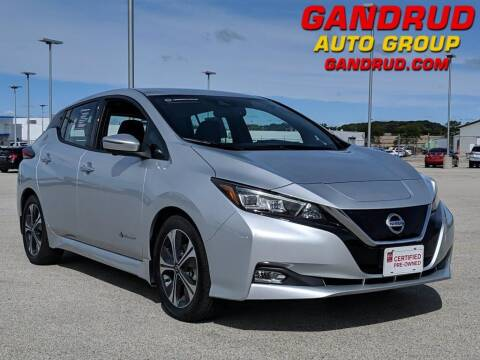 2018 Nissan LEAF for sale at Gandrud Dodge in Green Bay WI