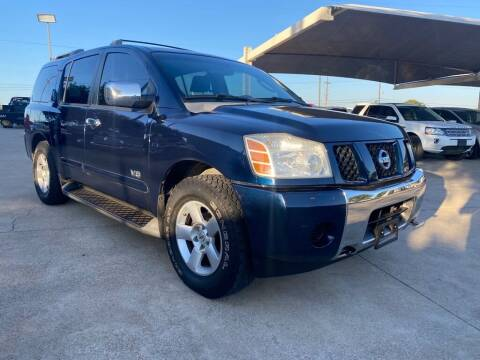 2006 Nissan Armada for sale at Thornhill Motor Company in Hudson Oaks, TX