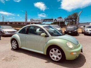2001 Volkswagen New Beetle for sale at Dealer Finance Auto Center LLC in Sacramento CA