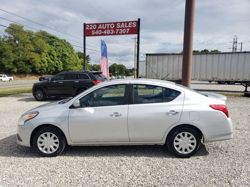 2016 Nissan Versa for sale at 220 Auto Sales in Rocky Mount VA