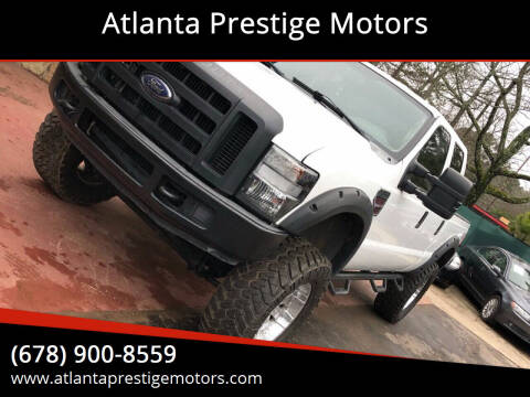 2008 Ford F-350 Super Duty for sale at Atlanta Prestige Motors in Decatur GA