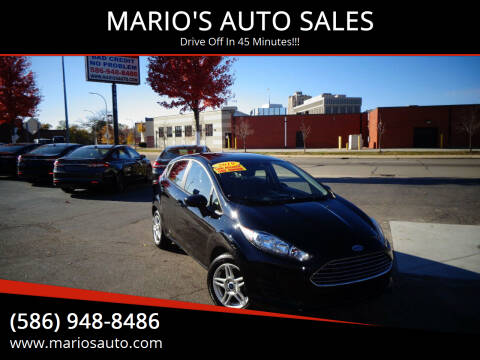 2019 Ford Fiesta for sale at MARIO'S AUTO SALES in Mount Clemens MI