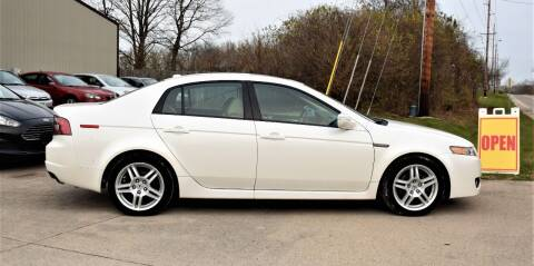 2008 Acura TL for sale at PINNACLE ROAD AUTOMOTIVE LLC in Moraine OH