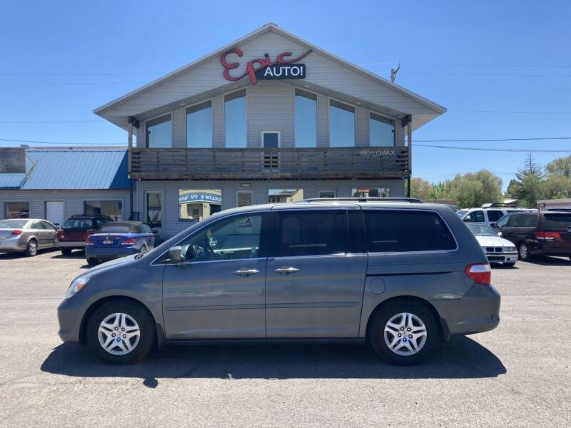 2007 Honda Odyssey for sale at Epic Auto in Idaho Falls ID