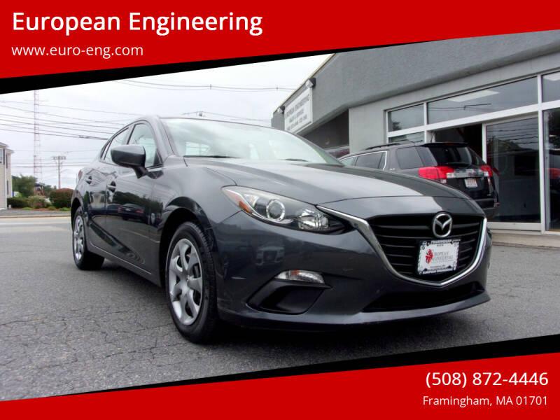 2015 Mazda MAZDA3 for sale at European Engineering in Framingham MA