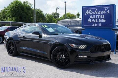2016 Ford Mustang for sale at Michael's Auto Sales Corp in Hollywood FL