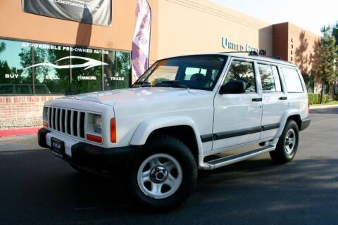 2000 Jeep Cherokee for sale at CK Motors in Murrieta CA