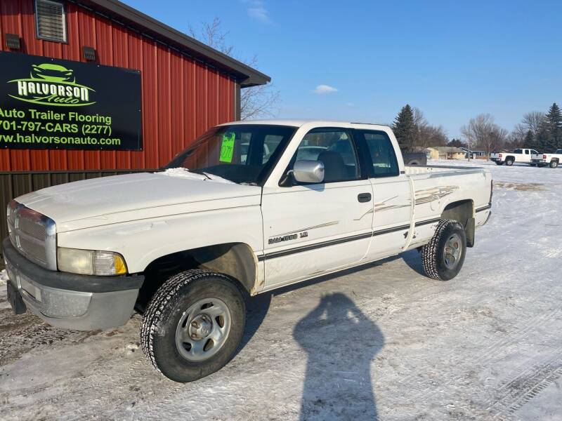 1996 Dodge Ram Pickup 1500 for sale at HALVORSON AUTO in Cooperstown ND