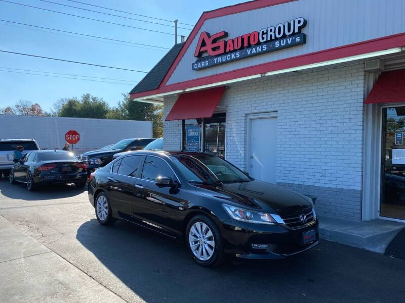2013 Honda Accord for sale at AG AUTOGROUP in Vineland NJ