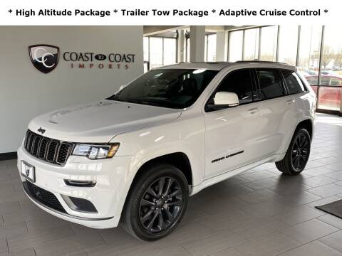 2018 Jeep Grand Cherokee for sale at Coast to Coast Imports in Fishers IN