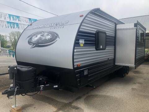 2021 FOR RENT!!!  Forest River Greywolf 23DBH for sale at S & R RV Sales & Rentals, LLC in Marshall TX