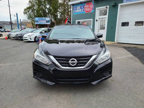 2016 Nissan Altima for sale at Bridge Auto Group Corp in Salem MA