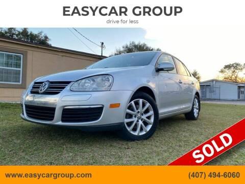 2010 Volkswagen Jetta for sale at EASYCAR GROUP in Orlando FL